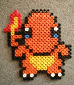 The World's Best Photos of pokemon and pyssla Pyssla Pokemon, Hama Beads Pokemon, Diy Perler Beads, Perler Bead Art, Perler Bead Templates, Pearler Bead Patterns, Perler Patterns, Arte Nerd, Pearl Beads Pattern