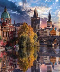 Prague, Czech Republic Holiday Destinations, Travel Destinations, Bora Bora, Wonderful Places, Beautiful Places, Beautiful Castles, Prague Photos, Prague Czech Republic, Voyage Europe