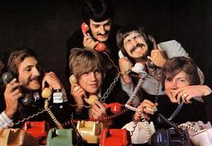 The Moody Blues <3 - Looks like the boys have their wires crossed! ;)
