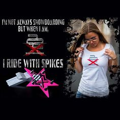 Women's Spike Pads and clothing! #snowboard #snowboarders #snowboarding #stomppad #stomppads #spikepad #snowboardaccessories #snowboardgear