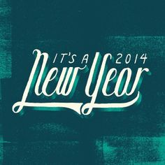 Tried out some texture shading. #texture #newyear #typography #handlettering | Flickr - Photo Sharing!