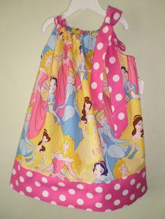 princess pillowcase dress