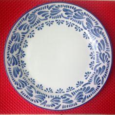 Juego platos de Mara S pintados por Mara.