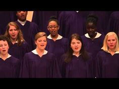 "St. Olaf Choir - ""What Wondrous Love"" - Southern Harmony, arr. Robert Scholz - YouTube"