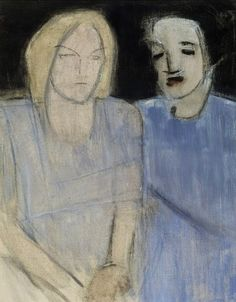 The Finnish artist Helene Schjerfbeck painted mainly works depicting herself, other women, children, & the home. Born in Hels. Helene Schjerfbeck, Helsinki, Female Painters, Z Arts, European Paintings, Art Database, Oil Painting Reproductions, People Art, Vintage Artwork