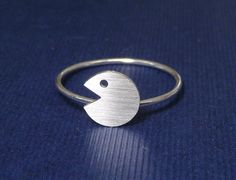 925 sterling silver charm stacking ring Tiny by artstudio88