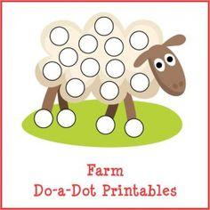 Farm Do-a-Dot Printables store product image
