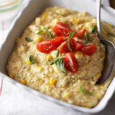 Southwestern Polenta with Corn and Chiles From Better Homes and Gardens