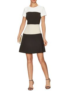 Stripe Crepe Dress by kate spade new york at Gilt