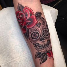 cool Top 100 Sugar Skull Tattoo - http://4develop.com.ua/top-100-sugar-skull-tattoo/