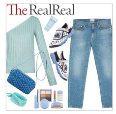 """""""Fall style with The RealReal  - contest entry"""" by simona-altobelli ❤ liked on Polyvore featuring Acne Studios, Christian Dior, Goyard, Marc Jacobs, Dee Berkley and polyvorecontest"""