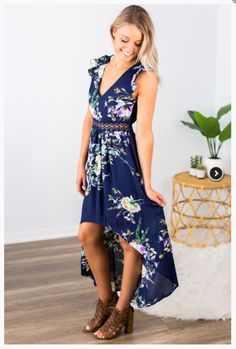 """Shop new arrivals at Beautique! Use code """"aubree10"""" at checkout to receive 10% off your order every time you purchase!  #womensclothes #summerstyle #womensstyle #hilow #dress #summer #shopsmall #floral #floraldress Open Back Maxi Dress, Dress Summer, Ruffle Sleeve, Size Model, Open Backs, Ruffles, Backless Gown, Backless Dresses"""