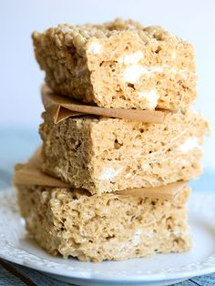 Salted Caramel Recipes: MARSHMALLOW CEREAL TREATS