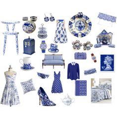 Delfty Blue and White love