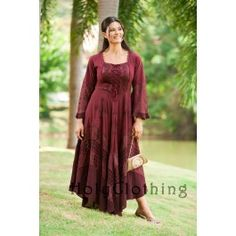 Clothes to fit real women. Love this dress! Soft rayon and gorgeous colors. I'll take one in every color, please. Thank you!