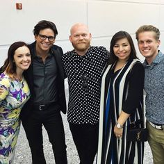 Flashback Friday to convention a couple of weeks ago! Hanging out with 4 of my favorite people. That awesome polka-dot wearing boss in the middle is Patrick, the designer of all the amazing garments Lularoe producs! (Feel free to show him the love in the comments for America's new addiction: The Carly! ) Next to him is his GORGEOUS wife Irma.(Name ring a bell?? ) Those other two fools are my best friends Randy and Ryan! I'd like to point out that 3 out of the 5 of us have an item named after…
