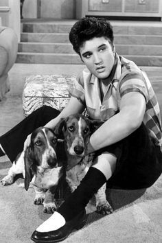 Elvis in Jailhouse Rock 1957