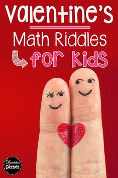 Need a fun Valentine's Day math activity or math center? Your elementary students will love these math riddles AND practice addition, subtraction and multiplication. Great for math centers in or grade! Multiplication Activities, Preschool Math, Math Classroom, Math Worksheets, Teaching Math, Math Activities, Preschool Printables, Math Games, Classroom Ideas