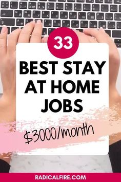 One of the best ways to make money from home is by picking up a stay at home job. Whether you are looking to earn an extra income or switching careers. Most of the tasks can be done online and more employers lets you do work in your own pace. There's never been a better time to make money on your own terms. In this article, you will learn the different types of stay at home jobs. Money Hacks, Money Tips, Money Saving Tips, Work From Home Jobs, Make Money From Home, Way To Make Money, Creating Wealth, Finance Organization, Teaching Jobs