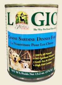 Nature's Logic Canine Canned - Sardine    •Over 55% Animal Ingredients  •Gluten Free  •Probiotics  •Enzymes  •100% Natural  •No Synthetic Vitamins or Minerals    Available in 4.4 lb and 26.4 lb sizes    #OmahaPetFood #TheGreenSpot #DogFood