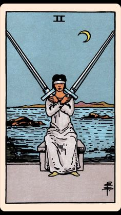 The Card of the Day: The Two of Swords