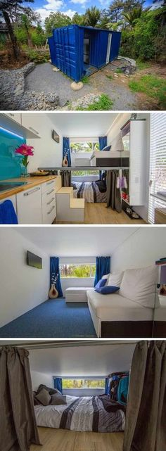 Container House - Tiny Container Home   Cool Container Homes That Will Inspire Your Own - Who Else Wants Simple Step-By-Step Plans To Design And Build A Container Home From Scratch? #ShippingContainerHomePlans