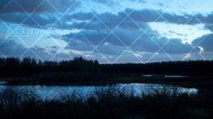stillekern zeewolde na zonsondergang