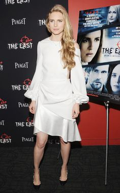 Long Story - Week of May 27, 2013:  WHO: Brit Marling WHAT: Prabal Gurung dress, Valentino shoes WHERE: The East premiere, New York City WHEN: May 20, 2013