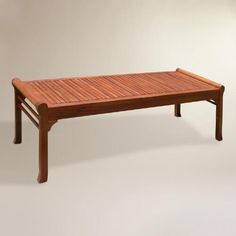 One of my favorite discoveries at WorldMarket.com: Temple Bench