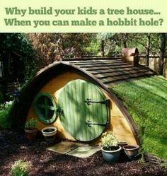 LOTR, Hobbit Hole.  Someday. Someday...