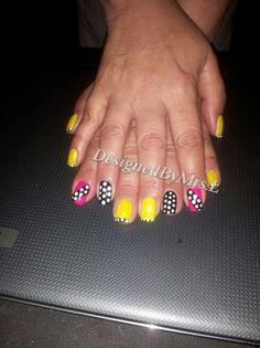 """In the pic you see a completely embedded polish a d design. You want a polish that NEVER chips or fade? A design  that you want to keep longer than a week or two? Well I have the answer come to me and I will embed your polish and design!!!!  Its that time to check us out....all month long starting today going through May 31st we offer cut-throat prices ...we call it  """"MAY MADNESS""""  FULL SET  $20 FILL INs     $15  PEDICURE   $18 MANICURE  $10  AND OUR VIP CUSTOMER GET THE MANI/PEDI FOR $25…"""
