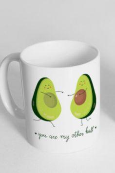 Avocado home decor trend: FoxyMug Coffee Mug, $15