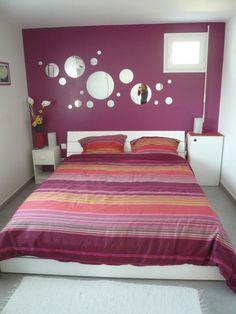 chambre gris blanc violet - Recherche Google | DECORATION INTERIEURE ...