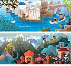 Conheça as bonitas ilustrações de Joey Chou | THECAB - The Concept Art Blog