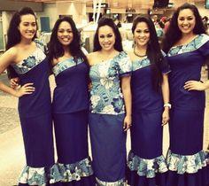 Polynesian fashion Island Wear, Island Outfit, New Dress Pattern, Dress Patterns, Unique Dresses, Pretty Dresses, Hawaiian Party Outfit, Island Wedding Dresses, Samoan Dress