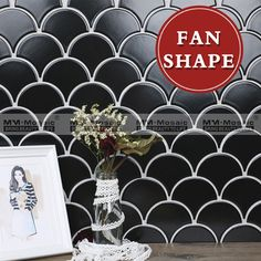 wholesale 2017 new kitchen wall tile design flower pattern