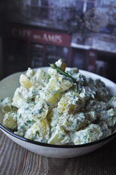 Kardamonowy: Sałatka ziemniaczana z ziołami