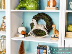 Craigslist Bookshelf Makeover