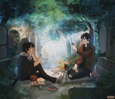 Nico and Anubis playing mythomagic cards in at cemetery By Viria Percy Jackson Characters, Percy Jackson Quotes, Percy Jackson Fan Art, Percy Jackson Books, Percy Jackson Fandom, Anubis Kane Chronicles, The Kane Chronicles, Rick Riordan Series, Rick Riordan Books