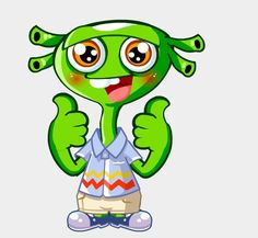 Laki, one of the characters from ALO7's curriculum. #ALO7English