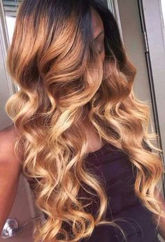 2017 Spring & Summer Hair Color Trends For Black & African American Women. Reinvent yourself this summer by stepping up your hair game with a brand new hair shade. From stepping outside yo… Summer Hairstyles, Weave Hairstyles, Pretty Hairstyles, Ombre Hair Weave, Hair Hacks, Hair Tips, Curly Hair Styles, Natural Hair Styles, Loose Waves Hair