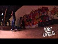 Um bela produção com imagens do skatista Denny Kremblas com alta performance um pouco mais de 5 minutos de muito skate e altas tricks, estilo leve de andar me lembra muito a grande lenda do skate de rua Rodney Mullen.