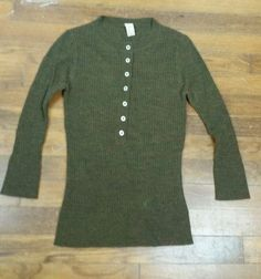 Free People Wool Blend Womens Juniors 3/4 Sleeve Sweater Size S/P EUC