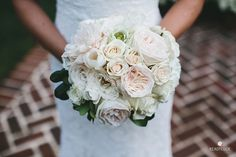 White and Blush Bouquet | Brides.com