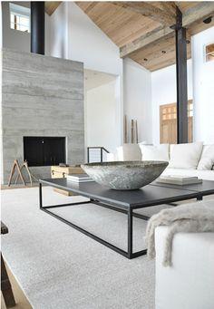 Inspiracja - beton i drewno - Briggs Edward Solomon - Must Have Magazine