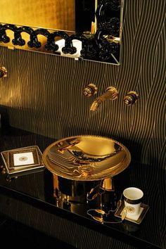 black and gold toilet. Fergus Blue Black Gold Plain Wallpaper Astonishing And Toilet Images  Best inspiration home