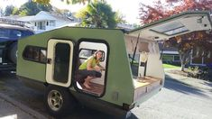 View topic - All-Season Off-Road Tiny Trailer Small Camper Trailers, Airstream Campers, Tiny Camper, Small Campers, Camper Caravan, Camper Van, Camping Trailers, Travel Trailers, Teardrop Camper Plans