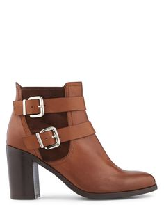 Boots - Friend - Boots - Collection chaussures Femme - Marron - Noir