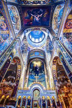 randomanglican: eremitaminorecarmelitanoblog: St. Volodymyr's Cathedral, Kiev fantastica……   Wow!  St Volodymyr's Cathedral (Ukraini...