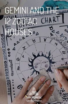 Your natal chart is composed of twelve signs and twelve houses. Adding to it the stars and aspects between them. It is quite complex, but it's possible to simplify the reading process by breaking down the information. Learning how to read your natal chart is an amazing tool you can use for self-knowledge and development. Here you can find information about Gemini and the 12 Zodiac houses.
